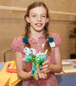 Maisie - Bristol Young Gardener of the Year
