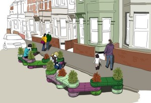 Sustrans Street Pockets project - transforming streets and urban spaces
