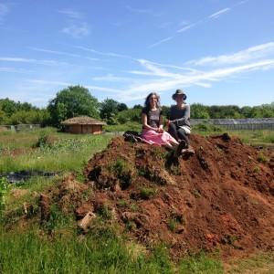 Maddy Longhurst & Miche Fabre Lewin on Blue Finger soil