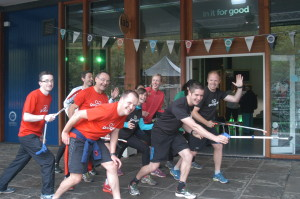 Healthy City Week 2015 kicked off with a GoodGym run and a weekend takeover of Bristol 2015's Lab Space at the Harbourside