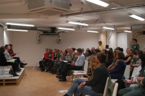 Seminars at Open Space Bristol were often full during Healthy City Week