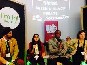 Green and Black live radio debate in 2015 - credit Ujima Radio