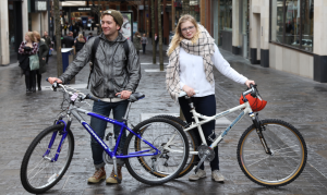 Students with BB bikes