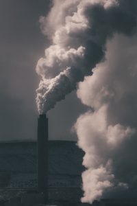 fossil fuel smoke stack