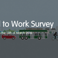 Get to know the travel habits of your organisation – by taking part in the Travel to Work Survey 2016