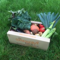 Sponsor a veg box for Bristol's FOOD Clubs!